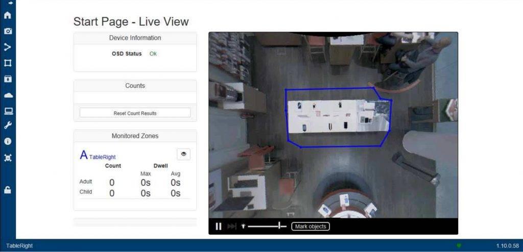 Ukázka systému monitorování návštěvníků AC SYSTEMS Praha
